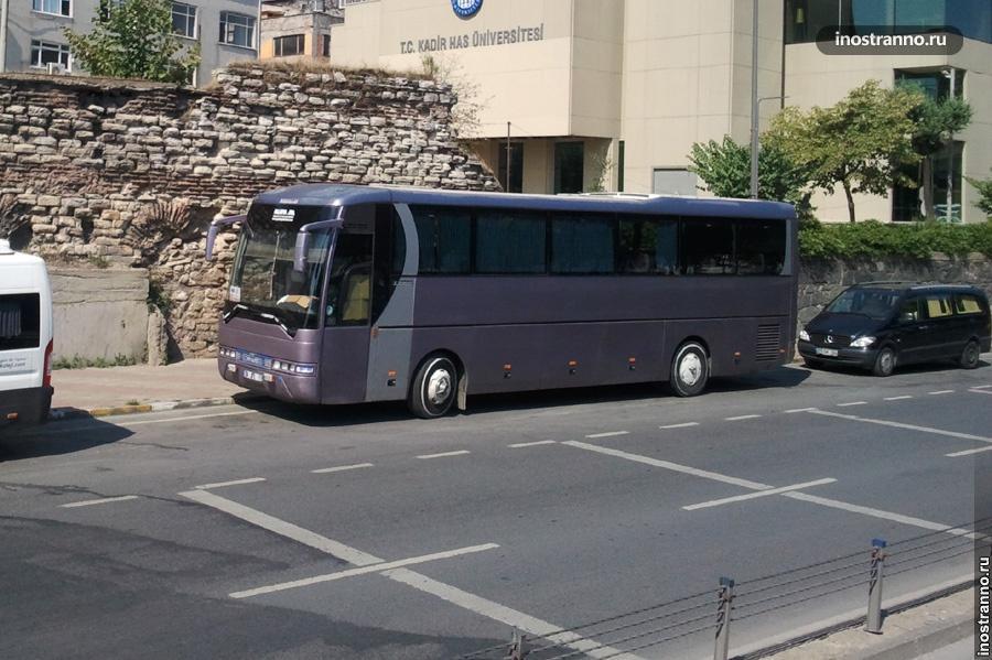 Автобус из аэропорта в Анталии