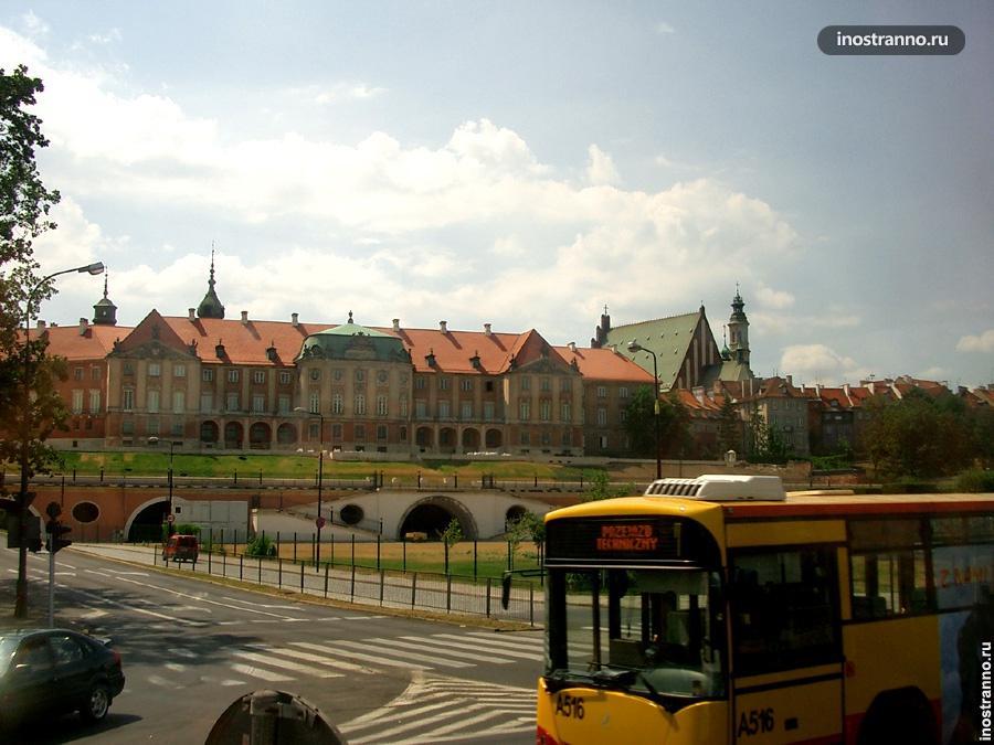 Варшава вид
