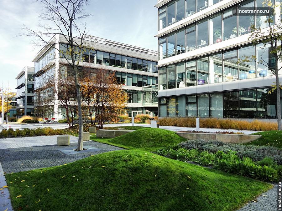 Оформление офисов в Чехии