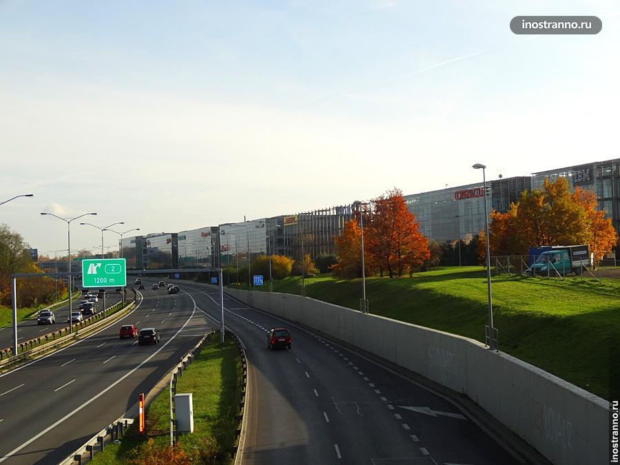 Дорога в Брно