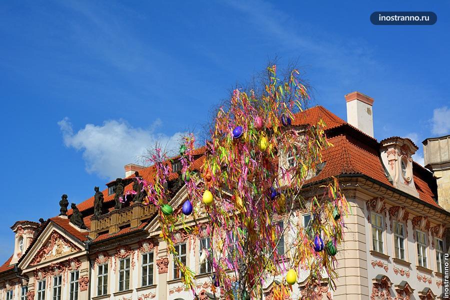 Пасхальный рынок в Праге