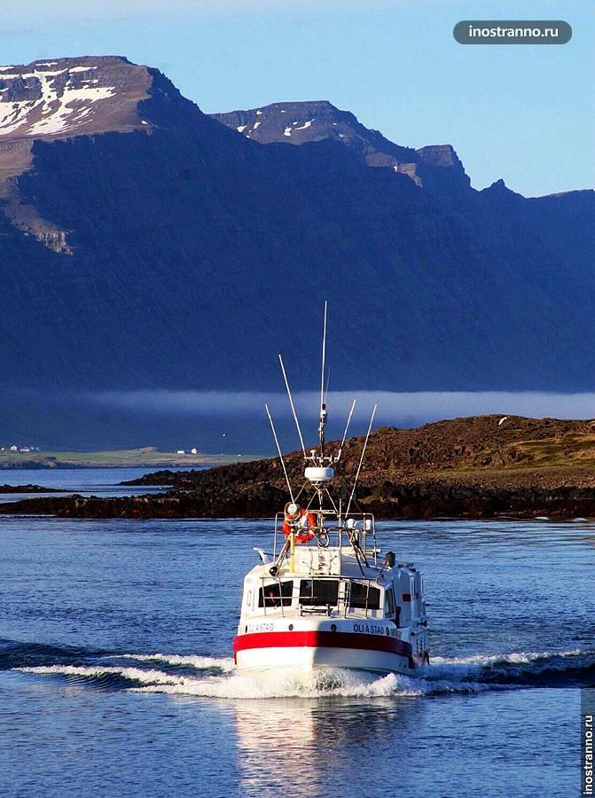 Эйя фьорд в Исландии