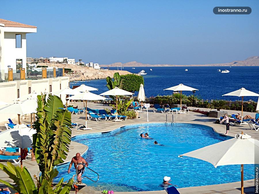 Отель с бассейном Шарм-эль-Шейх