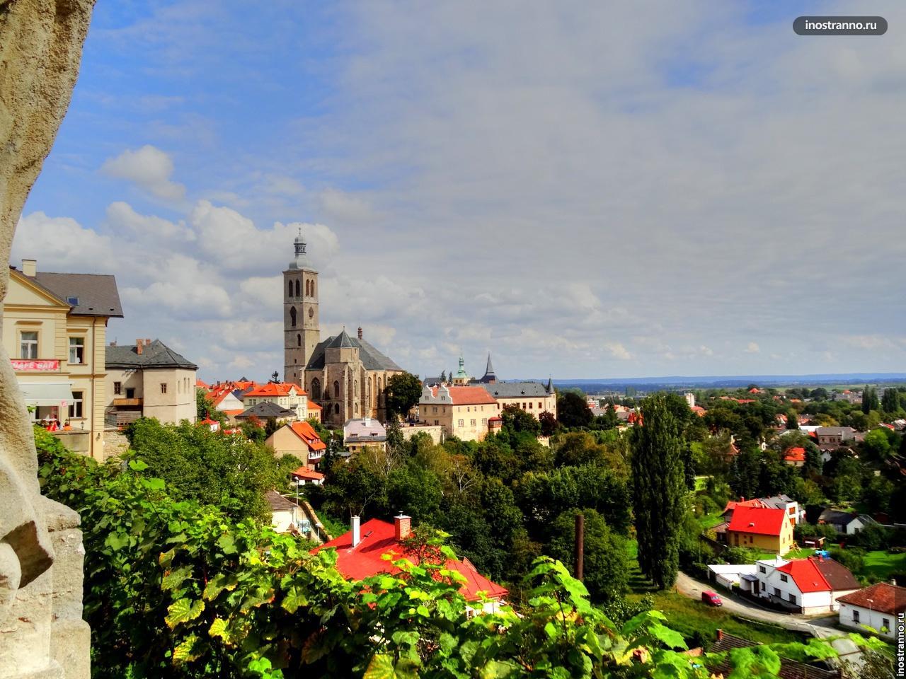 Вид на город Кутна Гора