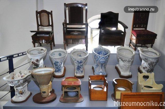 Музей унитазов в Праге