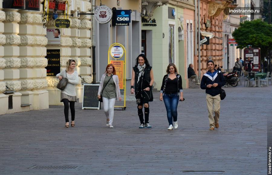 Улица в Словакии