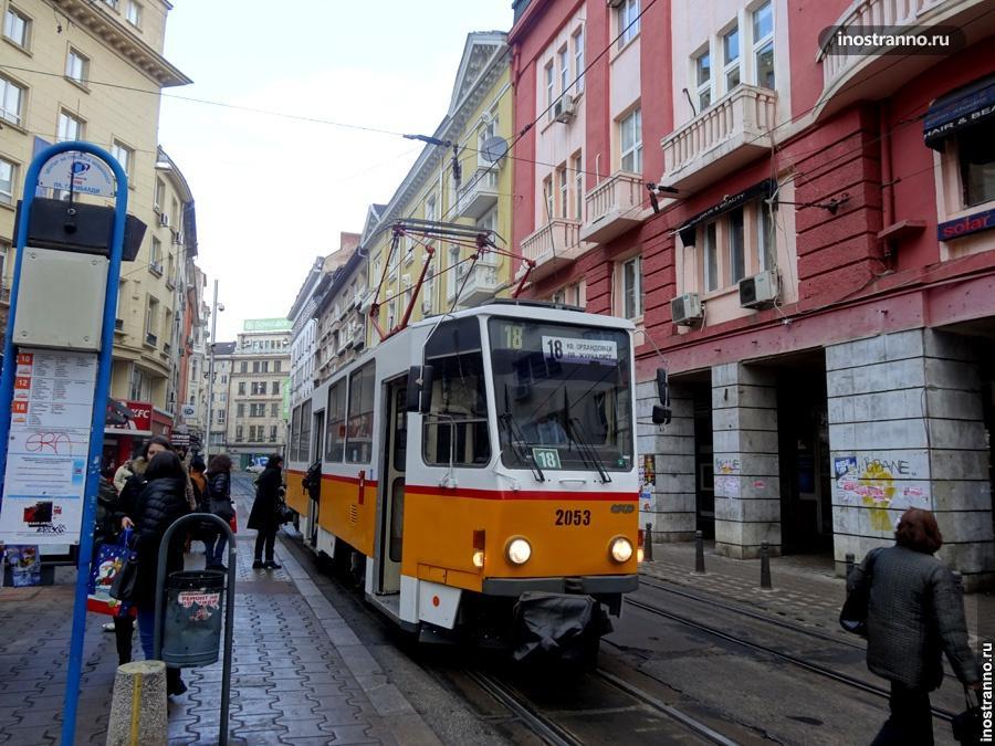 Трамваи в Софии