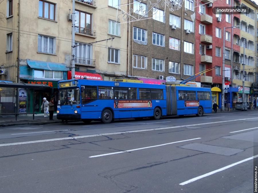 Троллейбус в Болгарии