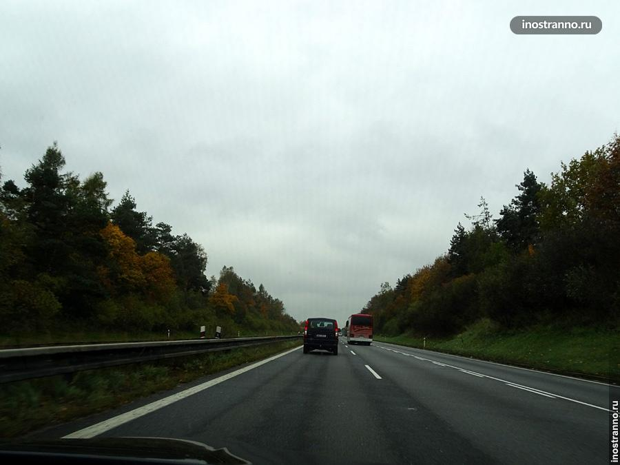 Платные дороги в Чехии