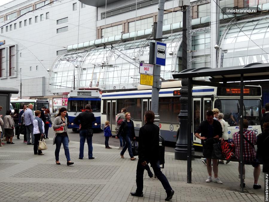 Троллейбус в Москве