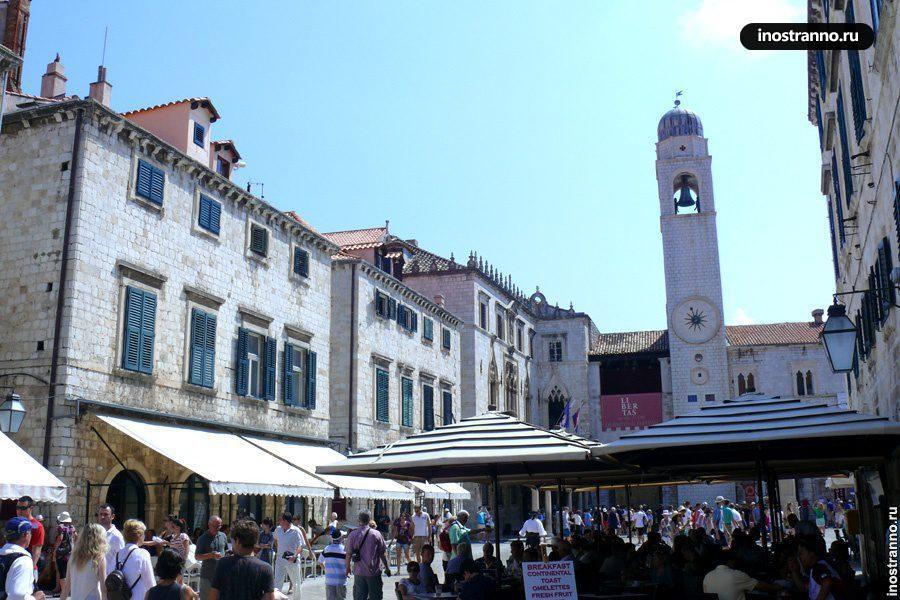 Площадь в Дубровнике