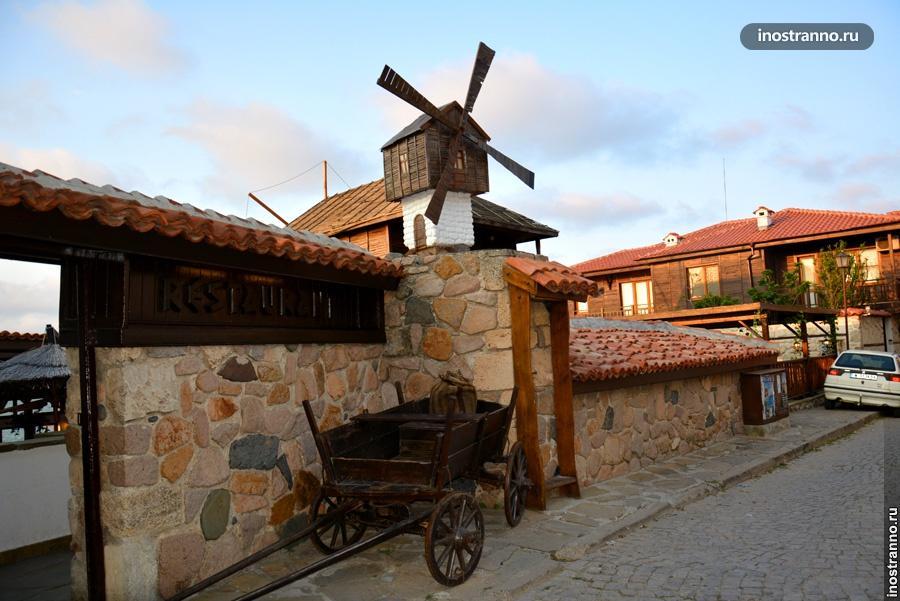 Ресторан Ветряная мельница в Созополе