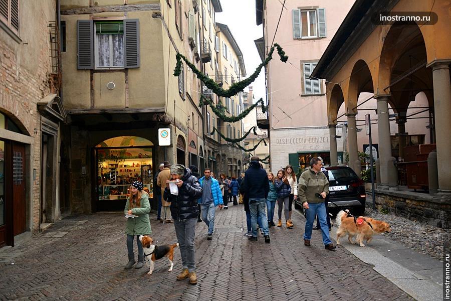 Старый город в Бергамо