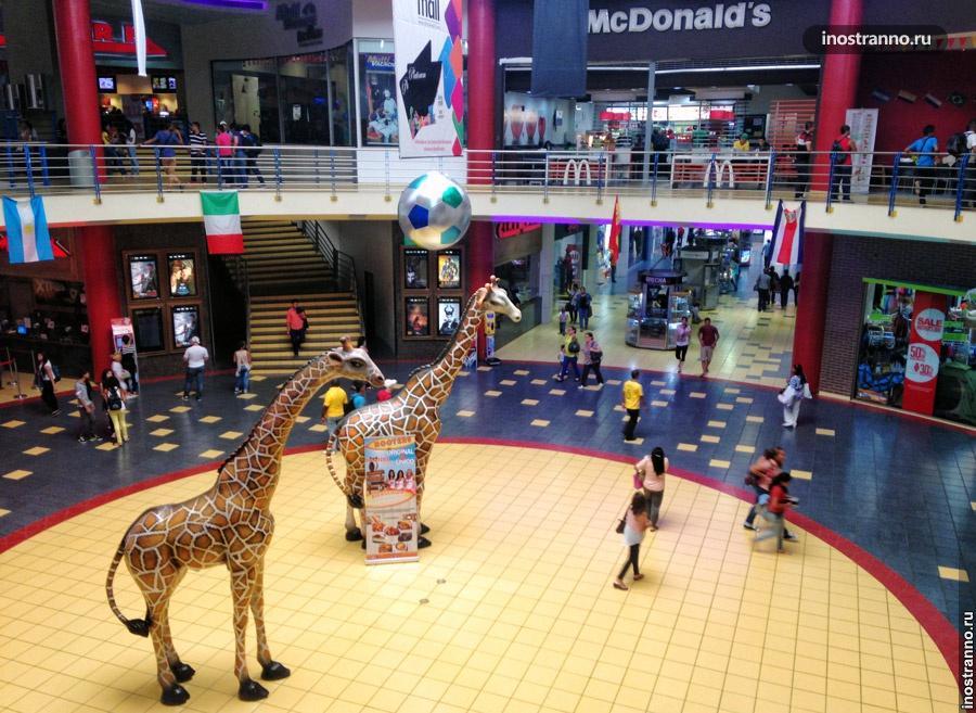 Торговый центр Albrook Mall в Панаме
