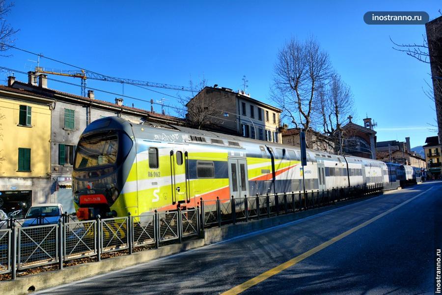 Поезд в Италии