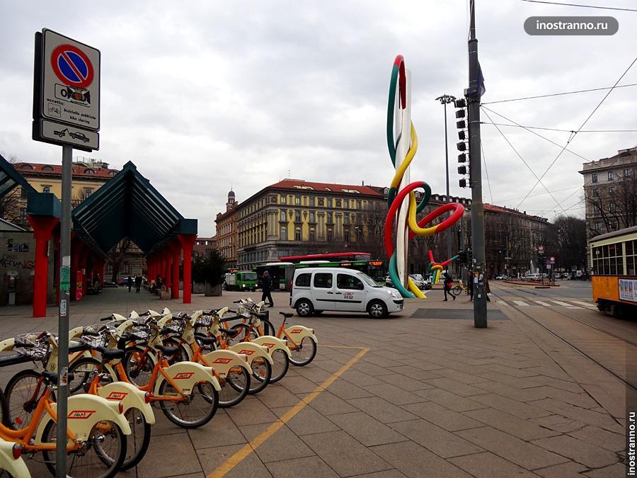 Велосипеды в Милане