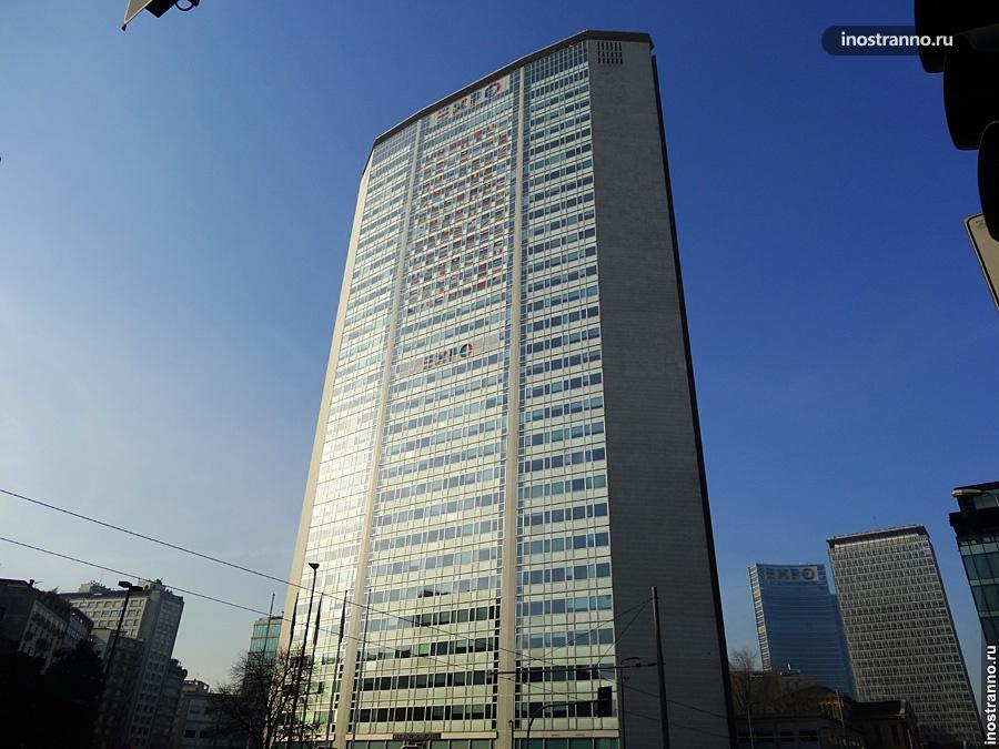 Башня Пирелли в Милане