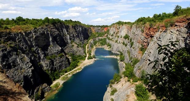 Чешский Гранд-Каньон Большая Америка