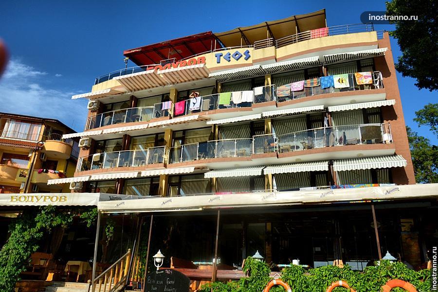 Отель на пляже в Китене
