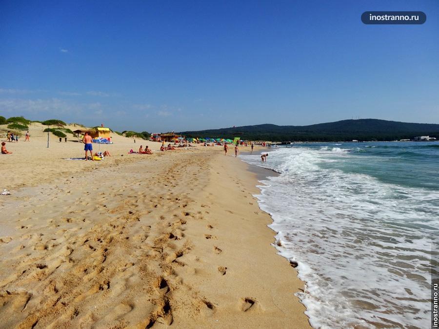 Северный пляж в Приморско