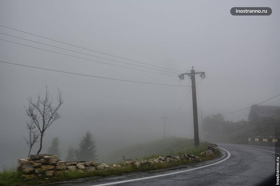 Дорога в Румынии