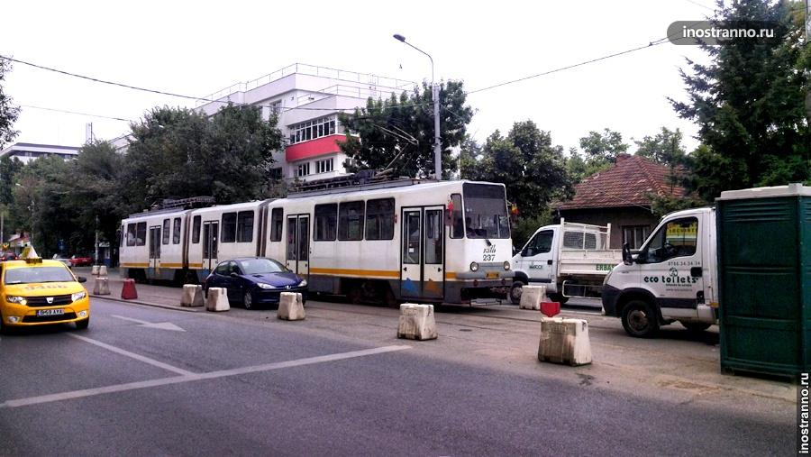 Трамвай в Бухаресте