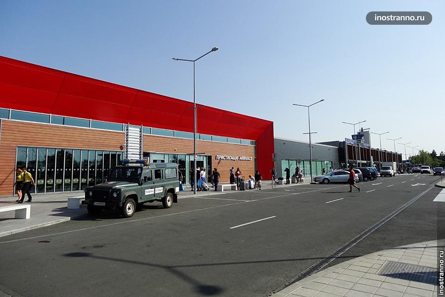Аэропорт Бургаса в Болгарии