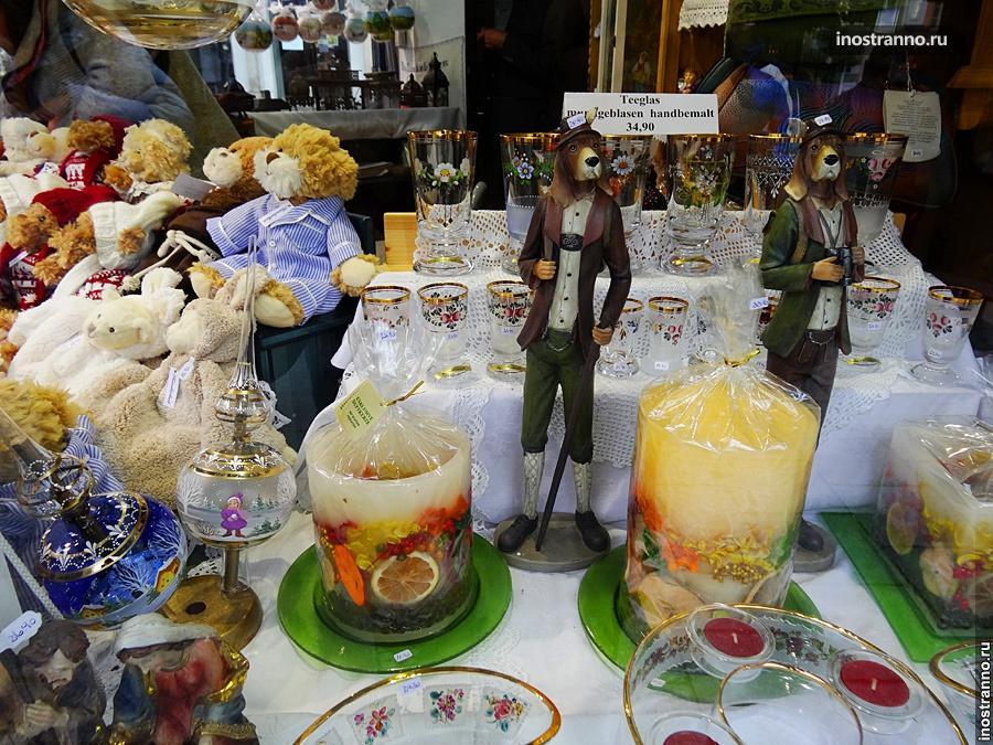 Рождественский базар в Линце, Австрия