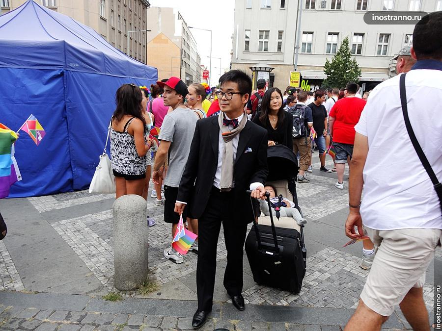 Корейский турист