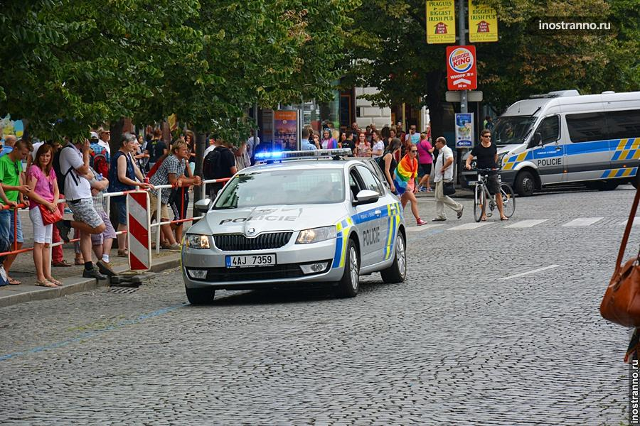 Полиция Чехии