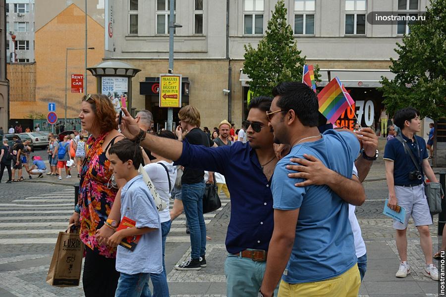 Гей-парад в Праге, фото