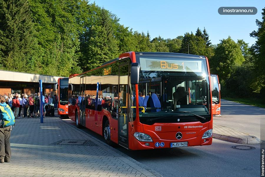 Автобус в Орлиное гнездо