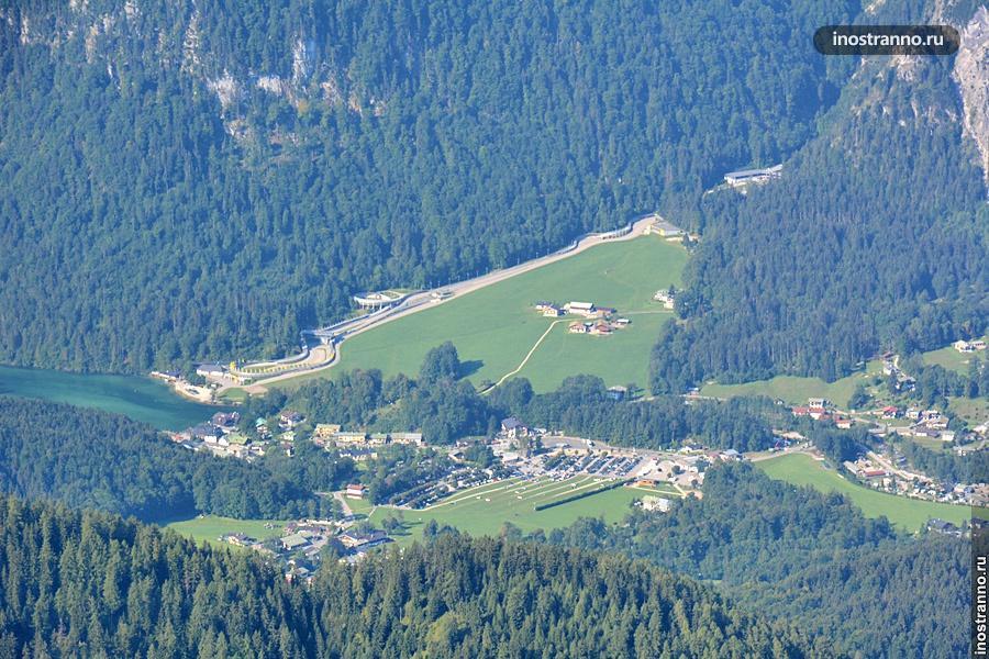 Санно-бобслейная трасса в Баварии