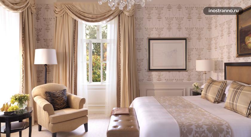 Романтичный отель в Праге Four Seasons Hotel Prague