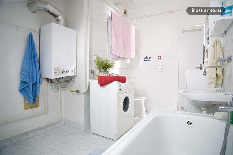 Газовое отопление в квартире в Чехии