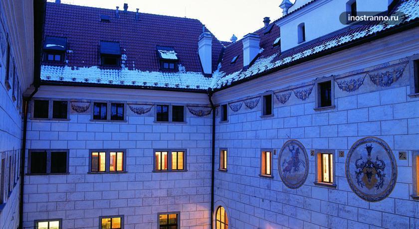 Отель в Чешском Крумлове Hotel Ruze