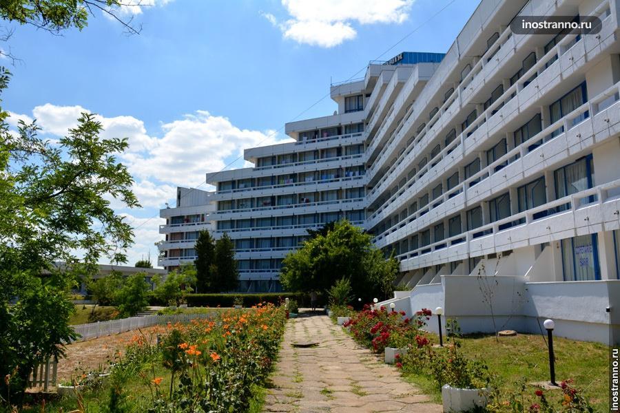 Отель на черном море в Румынии