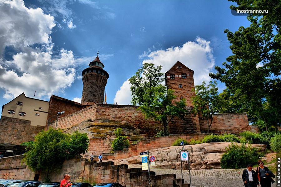 Крепость в Нюрнберге