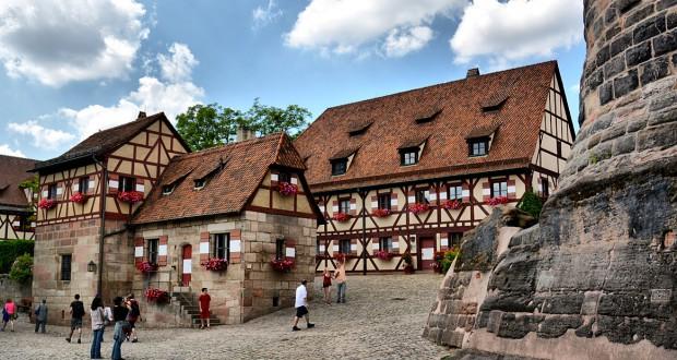 Баварский город Нюрнберг