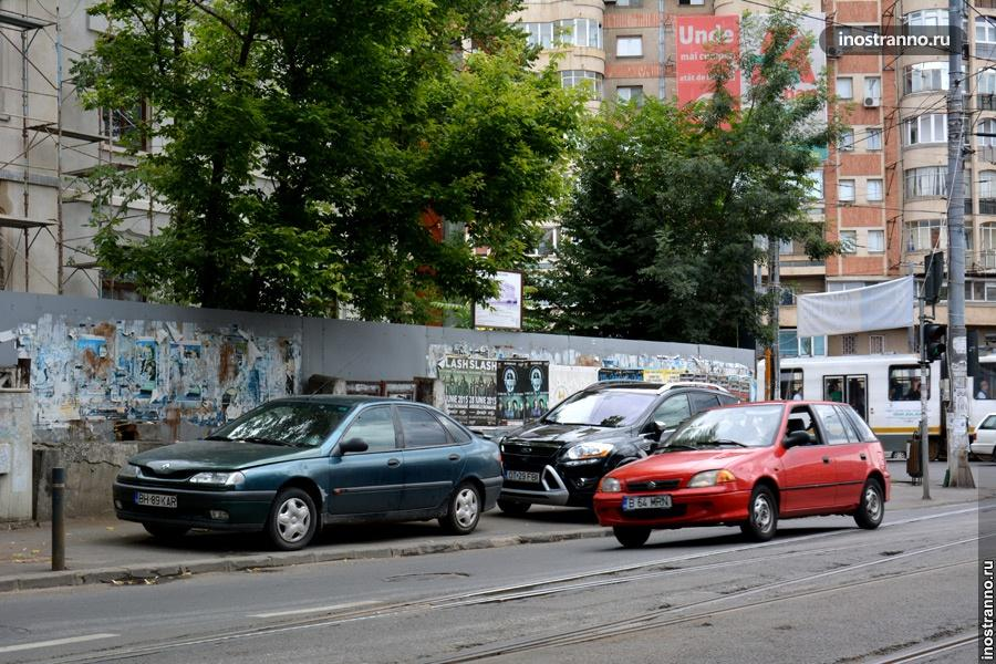 Парковка в Румынии