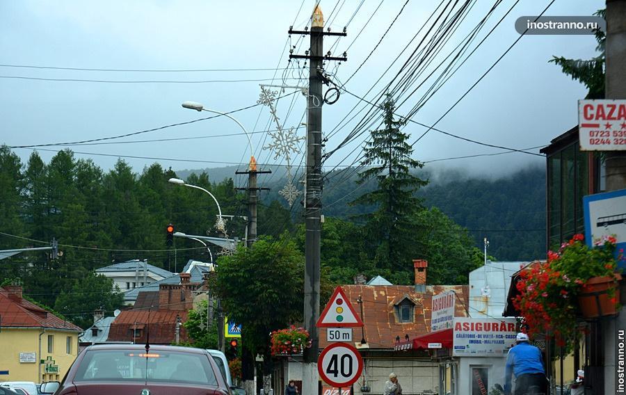 Линии электропередач в Румынии