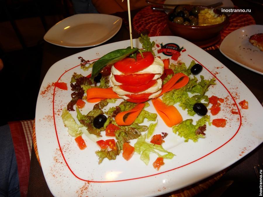 Салат в Австрии