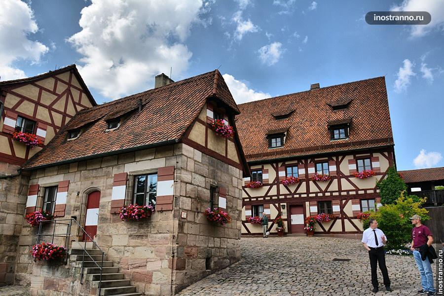 Фахверковые дома в Германии