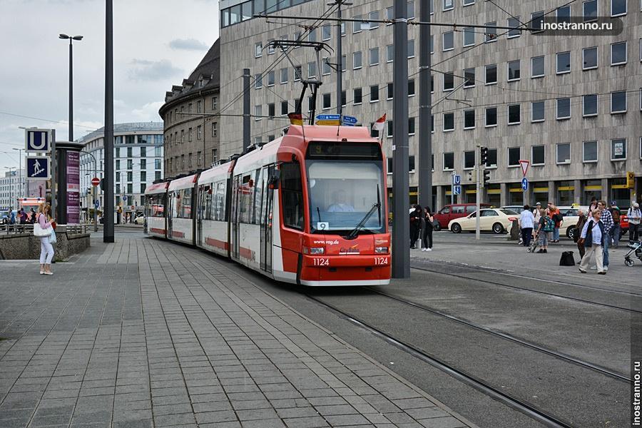 Трамвай в Нюрнберге