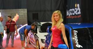 Типичная автовыставка в Праге