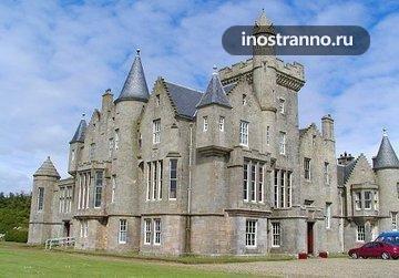 Замок в Англии Balfour Castle