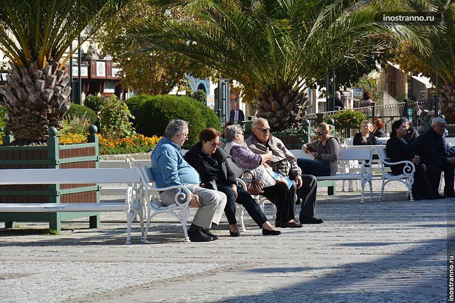 Европейские пенсионеры