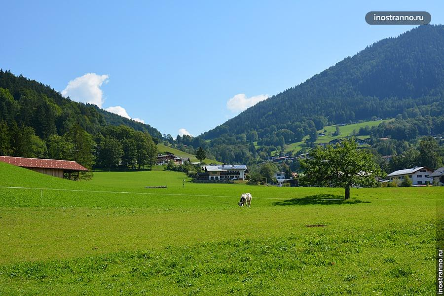 Пейзаж Баварии