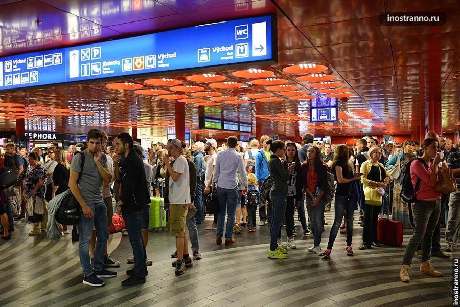 Вокзал в Чехии