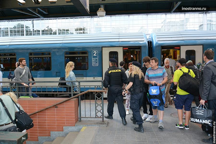 Поезд Будапешт-Прага